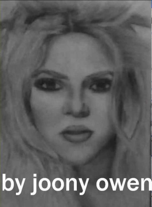 Shakira by sally